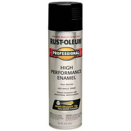 Enamel Spray Paint Professional High Performance Oil Based Gloss Black 15 -