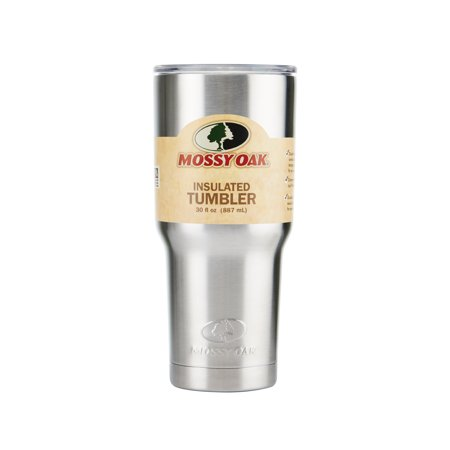 Mossy Oak 30 Ounce Double Wall Stainless Steel Tumbler Walmartcom
