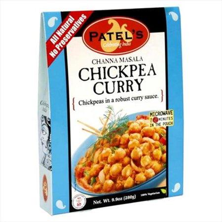 Patels Curry, Chickpea, Channa Masala - Walmart.com