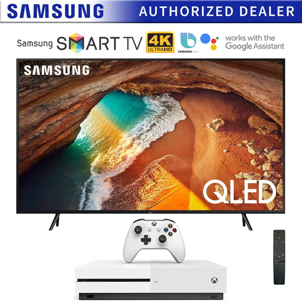 Oferta en Combo de Televisor Samsung QLED de 43 Pulgadas QN43Q60RA Q60, 4K, Ultra HD Modelo 2019 con Xbox One S de 1TB QN43Q60RAFXZA 43Q60RA QN43Q60RA