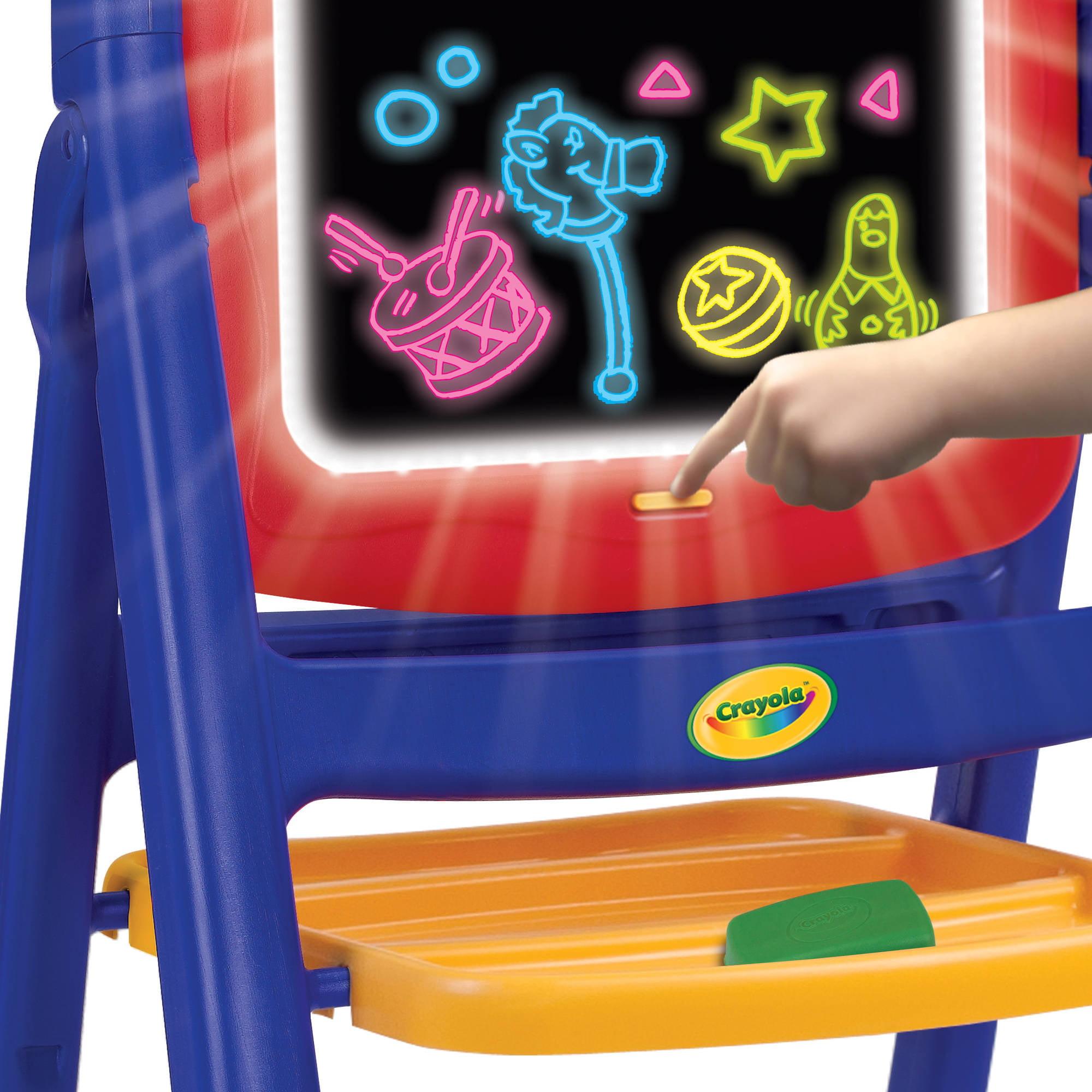 & Crayola Glow Easel - Walmart.com