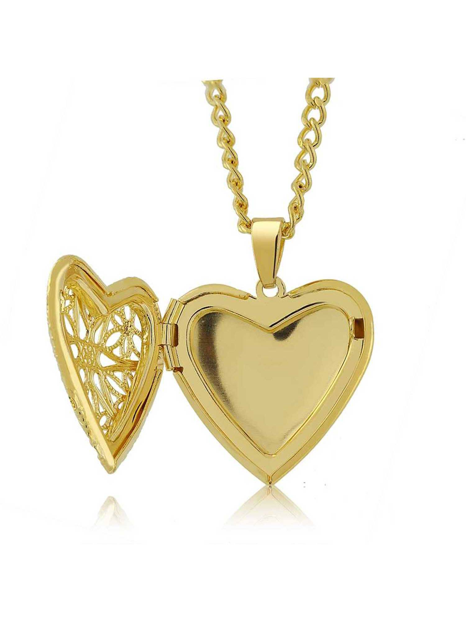 lockets heart vermeil gold hurleyburley personalised locket baby necklace product original by