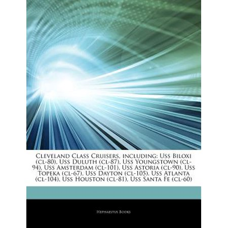 Articles on Cleveland Class Cruisers, Including: USS Biloxi (CL-80), USS Duluth (CL-87), USS Youngstown... by