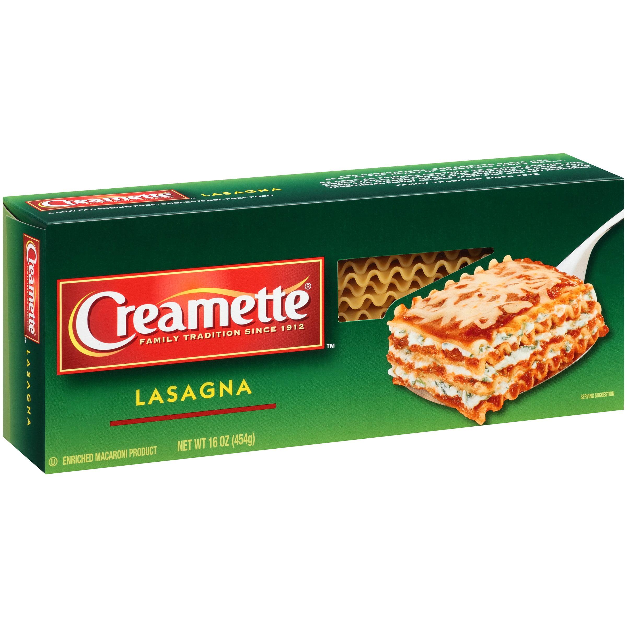 Creamette Lasagna, 16 oz by New World Pasta