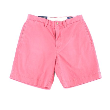 Polo Ralph Lauren NEW Red Mens Size 38 Classic Fit Stretch Shorts