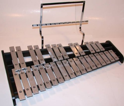 GP Percussion Bell Kit, Glockenspiel, Xylophone, Stand, Bag, Pad by Mirage