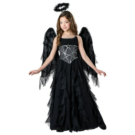 Dark Angel Child Costume - Medium - Dr Who Angel Costume