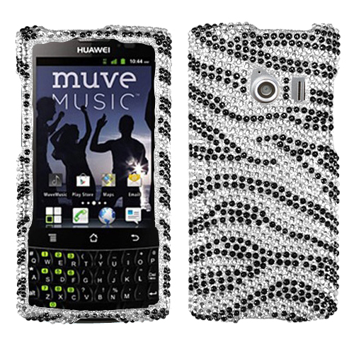Diamond Bling Jewel Rhinestone Diamante Case Cover Protector for Huawei Ascend Q
