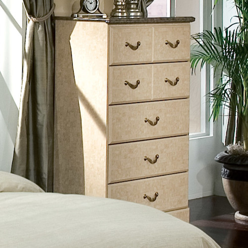 Standard Furniture Florence 5 Drawer Chest in Jura Block