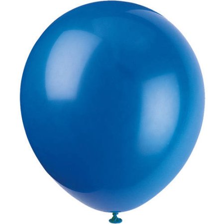 (4 Pack) Latex Balloons, 9 in, Royal Blue, 20ct