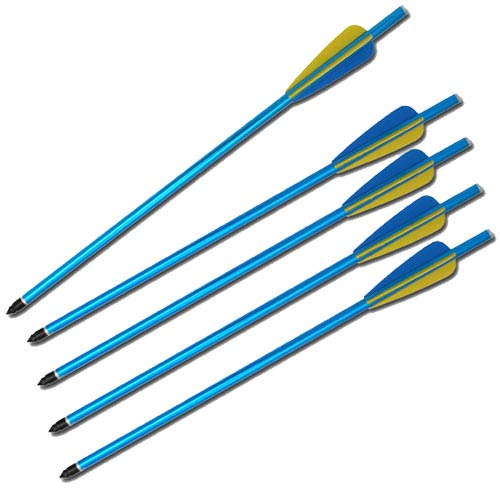 Aluminum Rifle Crossbow Bolts Blue by