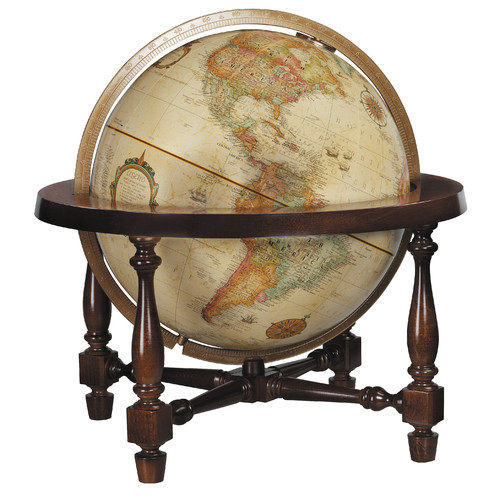 Replogle Globes Colonial Antique World Globe