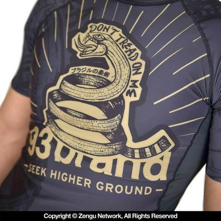 """93 Brand """"Strong Snake"""" Rash Guard"""
