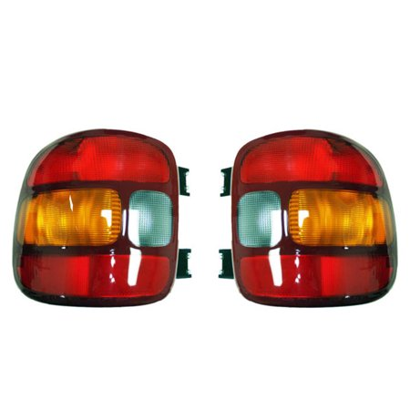 07 Chevrolet Silverado 1500 Light - NEW PAIR OF TAIL LIGHTS FITS CHEVROLET SILVERADO 1500 STEPSIDE 1999-03 15224277 19169012 15224276 19169013 GM2801136 GM2800136