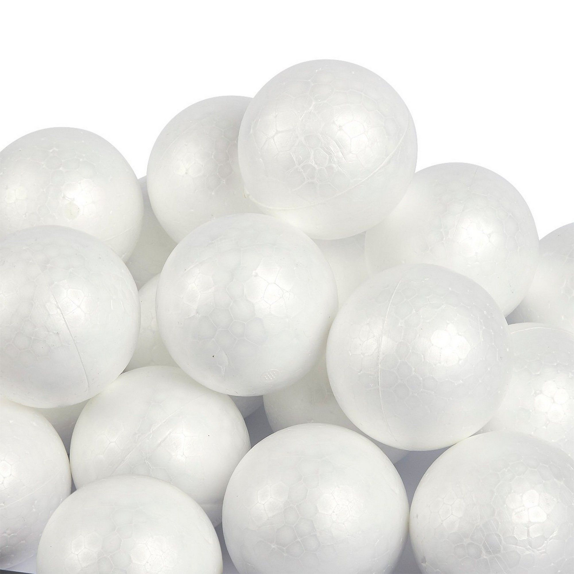 300 Pack Craft Foam Balls Arts and DIY Supplies in 5 Sizes