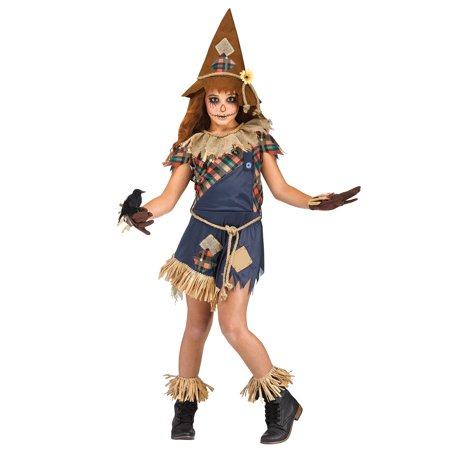 Scary Crow Child Costume (Charlie Crow Children's Costumes)