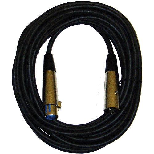 CBI Microphone LowZ XLR(f) to XLR(m) Cable- 20'