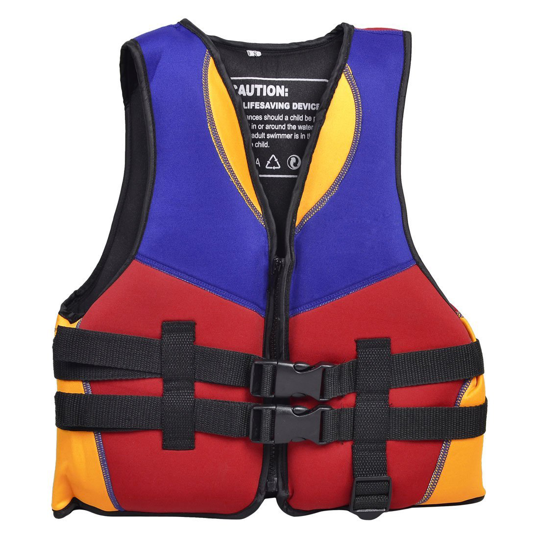 THZY Red Blue Orange Water Sports Swimming Life Jacket Vest Size S for Children by THZY