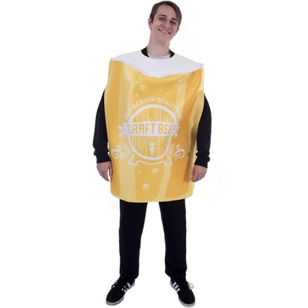 Boo! Inc. Pint of Beer Halloween Costume | Funny Food Craft Beer Drinking Glass Suit