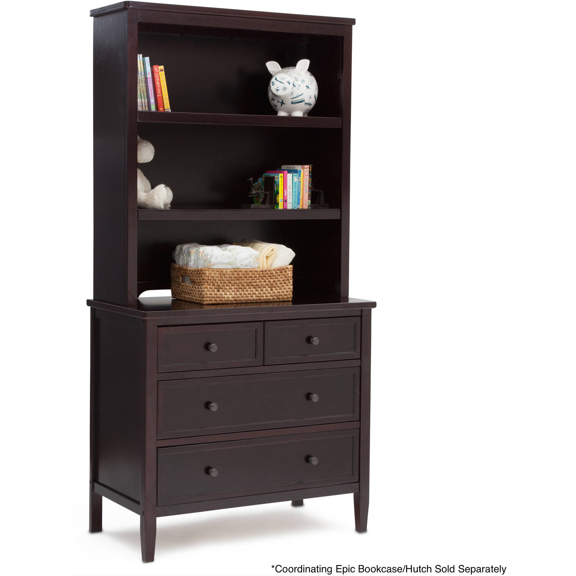 Delta Children Epic 3 Drawer Dresser, (Choose Your Finish)   Walmart.com