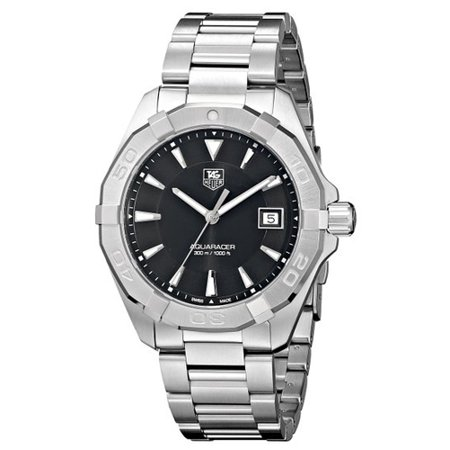 Tag Heuer Men's Aquaracer Watch Quartz Sapphire Crystal WAY1110.BA0928