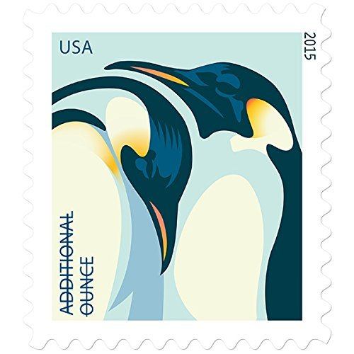 Penguin Strip of 20 USPS Additional 1 Oz Postage Stamps