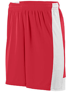 Augusta Drop Ship Youth Wicking Polyester Short with Contrast Inserts