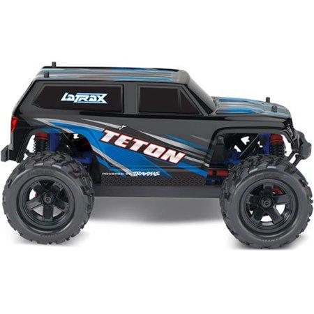Traxxas 76054-5-BLUE Teton 1/18 Scale 4WD Truck Fully Assembled Ready to (Stockpicker Truck)
