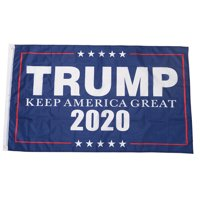 Jetlifee 3x5 Foot Trump Flag - Donald Trump President 2020 Keep America Flag.The 45th U.S. President Flags Polyester Brass Grommets 3 X 5 Ft