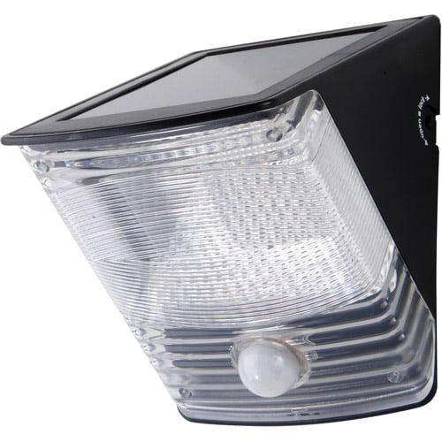 Cooper Lighting MSLED100  Solar Powered Motion Detector  LED Light