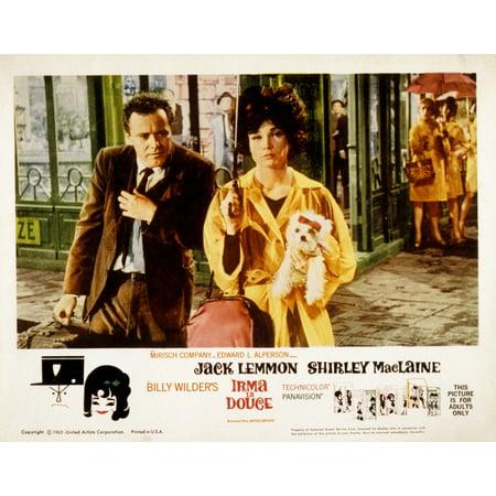 Irma La Douce Jack Lemmon Shirley Maclaine 1963 Movie Poster Masterprint (Jack Lemmon Movies)