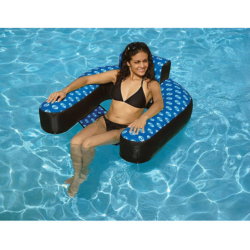 Fabric-Covered Suspending Chair Pool Inflatable