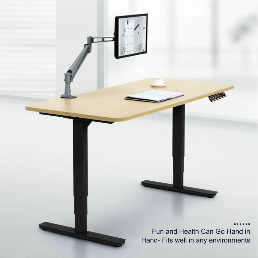 CO Z Electric Height Adjustable Standing Desk Office Desk Sit To Stand Desk