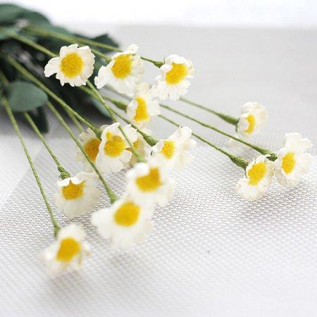 ENJOY 1 Bouquet Artifical Silk Gerbera Peony Flower Wedding Home Decors
