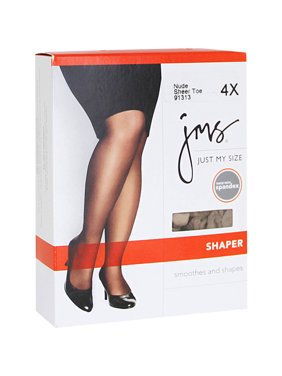 Just my size pantyhose shaper with sheer toe
