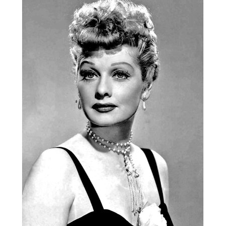 LAMINATED POSTER Comedienne Lucille Ball Actress Model Film Poster Print 24 x