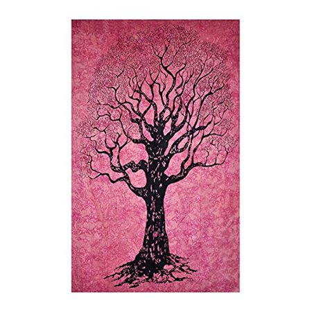 Oma Tree Of Life Tapestry Hippie Bohemian Dorm Wall Hanging Decor - LG SIZE - Oma FEDERAL (TM) (Derma Life)