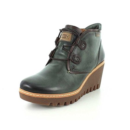 6981b586f51 Pikolinos - Womens Leather Ankle Wedge Boots - Walmart.com
