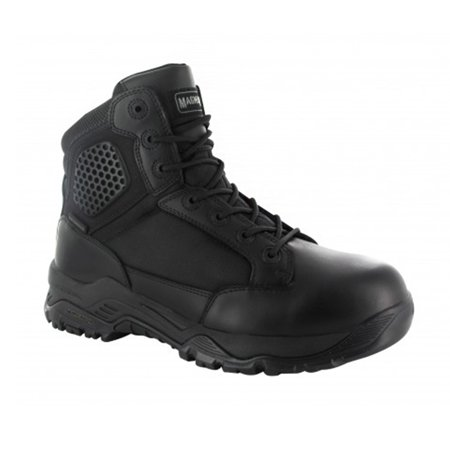 - Magnum Mens Strike Force 6.0 WP Black Waterproof Police Combat Boots 5434