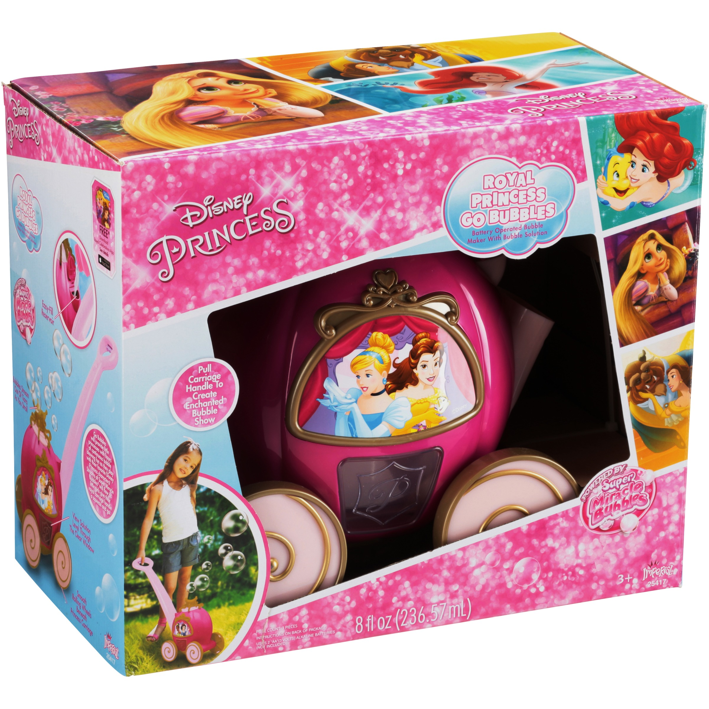 Imperial Toy Disney Princess Royal Go Bubbles