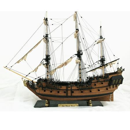Model Ships Boats - DIY 1: 96 Scale 3D Wooden Sailboat Ship Kit Home Model Decoration Boat Kids Children Christmas Gift