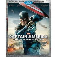 Captain America: The Winter Soldier (Blu-ray 3D + Blu-ray + Digital HD)