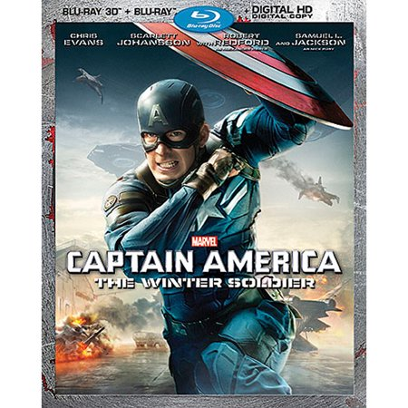 Captain America: The Winter Soldier (Blu-ray 3D + Blu-ray + Digital (Captain America The Winter Soldier 2014 1080p)