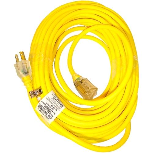 Snow Joe Power Joe 14 Guage 50ft LowTemp Ext Cord w/ Lighted End - Yellow