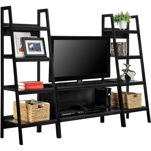 Altra Ladder Entertainment Center For TVs Up To 46 Black