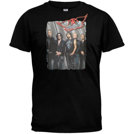 Image of Aerosmith - Group Standing Adult T-Shirt