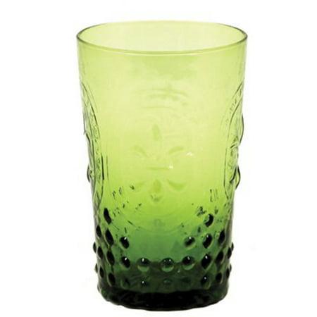 True Fabrications Lime Embossed 6 Ounce Glass (True Dark Glasses)