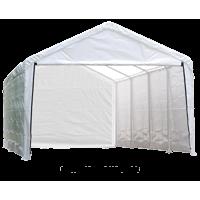 12x30 White Canopy Enclosure Kit Fits 2 Frame