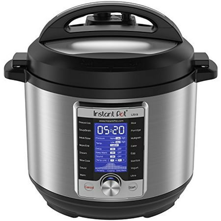 Instant Pot Ultra 6 Qt 10-in-1 Multi- Use Programmable Pressure Cooker, Slow Cooker, Rice Cooker, Yogurt Maker, Cake Maker, Egg Cooker, Sauté, Steamer, Warmer, and (Best Multi Cooker 2019)