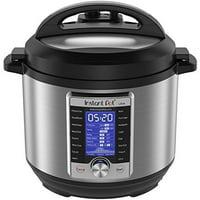 Instant Pot Ultra 6 Qt 10-in-1 Multi- Use Programmable Pressure Cooker, Slow Cooker, Rice Cooker, Yogurt Maker, Cake Maker, Egg Cooker, Saut, Steamer, Warmer, and Sterilizer